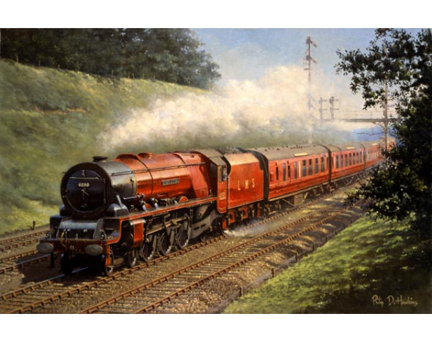 Rushing Though Rugeley by Philip D Hawkins