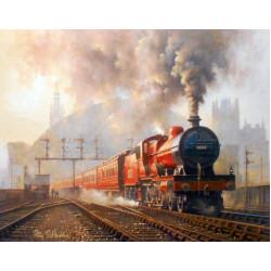 St Pancras Departure by Philip D Hawkins