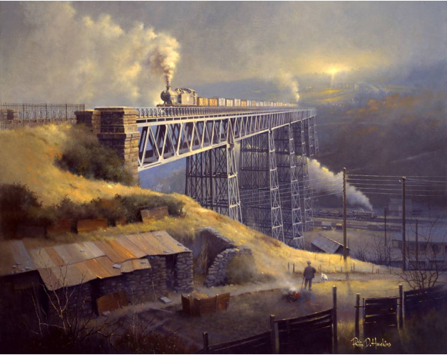 Steam In The Valley by Philip D Hawkins