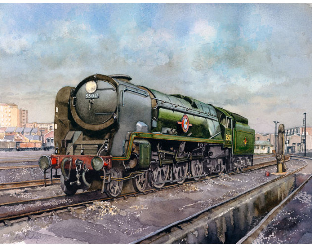 35017 at Nine Elms by Ray Rawlings