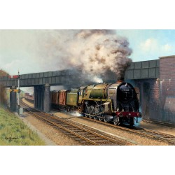 9F Evening Star by Rob Rowland