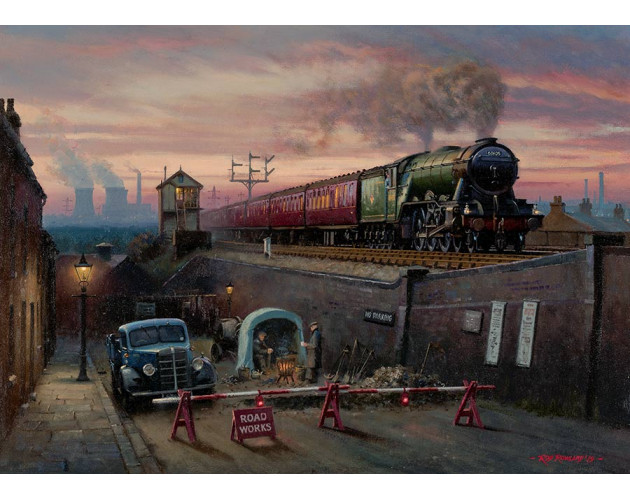 It's Quicker by Rail by Rob Rowland