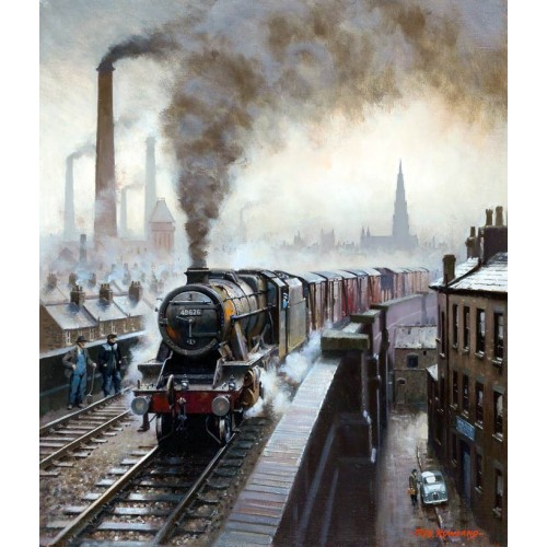 A Northern Town by Rob Rowland