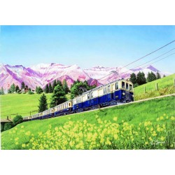 Golden Mountain Pullman Express by Gerald Savine