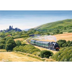 17:30 to Swanage by Gerald Savine