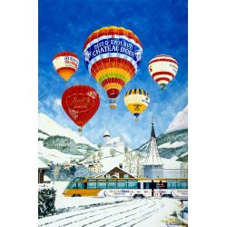 Château-d'Oex Balloon Festival by Gerald Savine