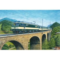 Waldbach Viaduct by Gerald Savine