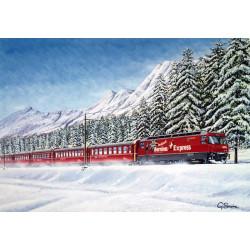 Winter Memories by Gerald Savine
