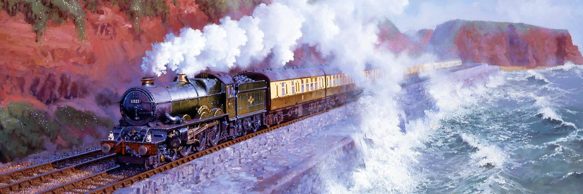 Great Western Railway Steam Train at Dawlish