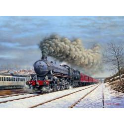 Winter Through New Southgate by Wynne B Jones